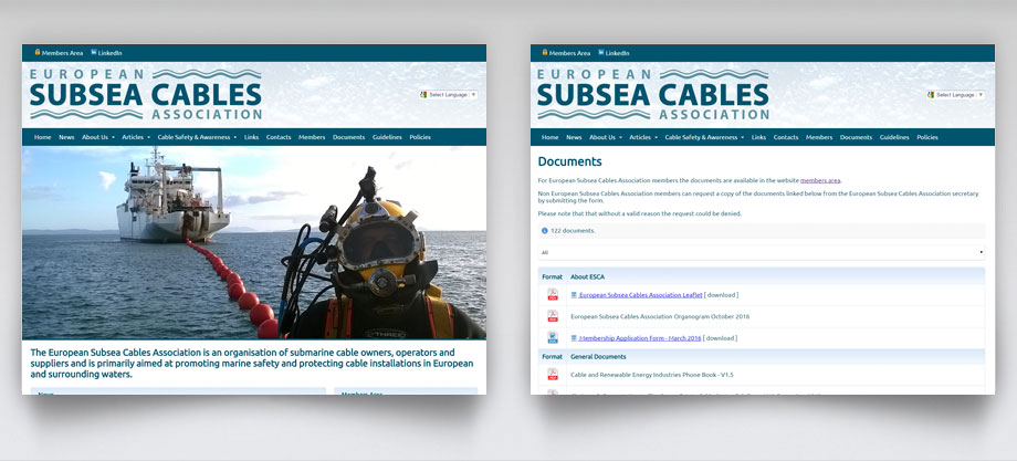 ESCA - European Subsea Cables Association
